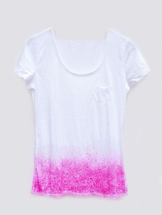 dry dye on a T