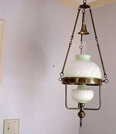 Vintage Hanging Gone With The Wind Oil Lamp Lamp Antique Lamps Oil Lamps