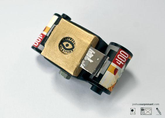 Pinhole Camera - Verameat Ring Box