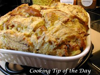 Cooking Tip of the Day: Recipe: Eggnog French Toast Casserole