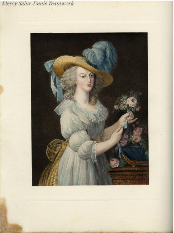 A bookplate from Le Trianon de Marie Antoinette by Pierre de Nolhac.