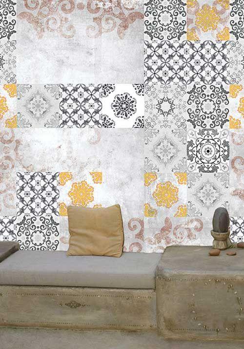 De 9 bästa Imitation carreaux de ciment | Cement tiles pattern ...