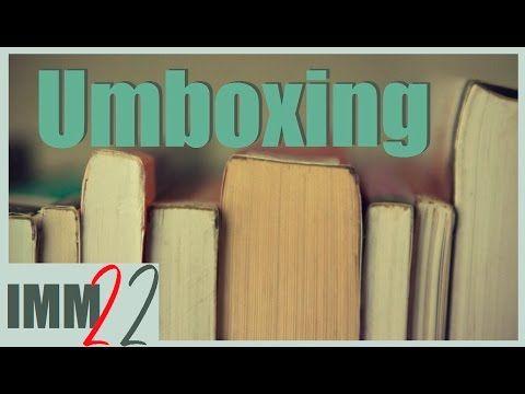 Imm 22 | Umboxing Esencia, Compras + Intercambio con autor #Autumnthon (...
