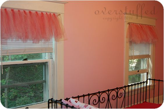 Valances, Curtain Rods And Tulle On Pinterest