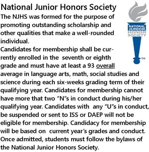 goal and junior honor society essay Writing an a+ essay requires some preparations here are some national junior  honor society essay requirements to follow: you should define your goal and feel  it well.