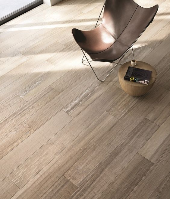 Faux wood porcelain tiles perfect for kitchen and for Simulated wood flooring