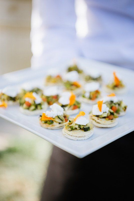 Creative Wedding Cocktail Hour Food Idea Rue 29 Napa Valley