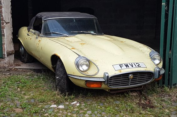 5.3 Liters Of Fun: 1972 Jaguar E-Type - http://barnfinds.com/5-3-liters-of-fun-1972-jaguar-e-type/