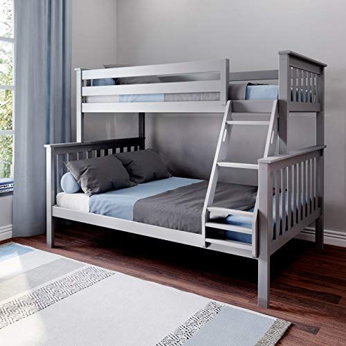 Max Lily Bunk Bed Twin Full Grey