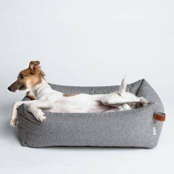panier pour chien cloud 7 sleepy deluxe tweed grey