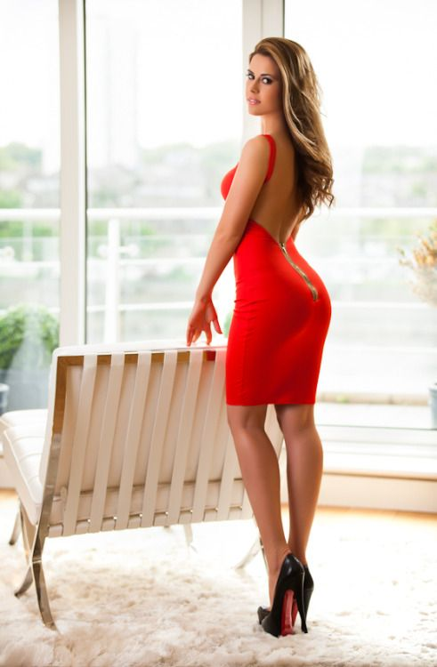 Red Dress High Heels | Tsaa Heel
