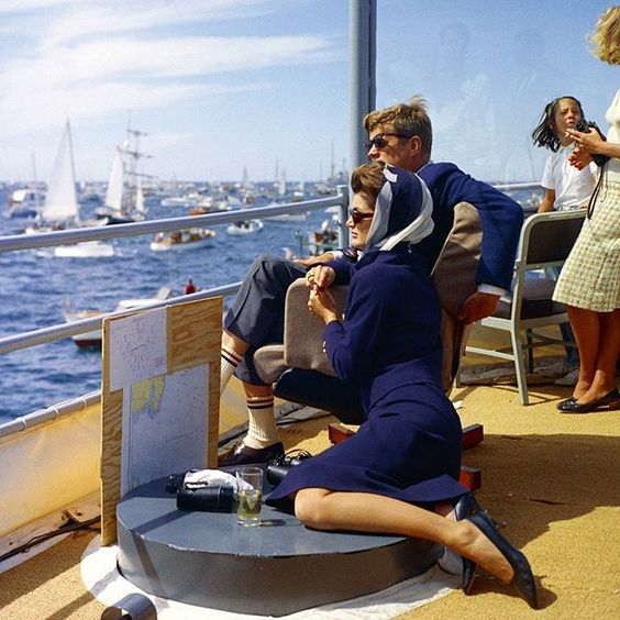 Camelot on sea . The glamour of the Kennedy presidency by Jacques Lowe #glamour #style #fashion #beauty #1960s #allure #elegant #sexappeal #history #america #kennedy