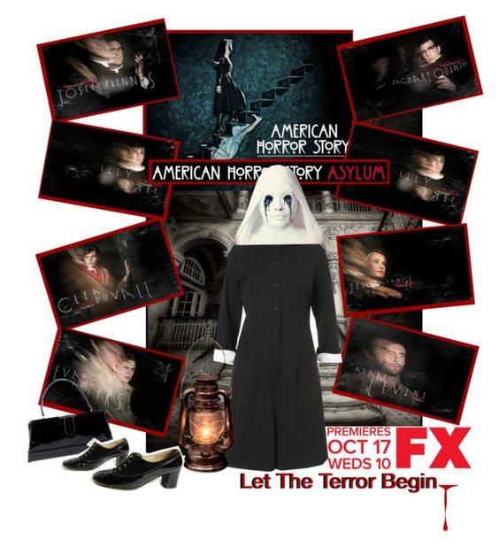 """""""American Horror Story: Asylum"""" by teah507 ❤ liked on Polyvore featuring GET LOST, J.W. Anderson and Katheley's"""