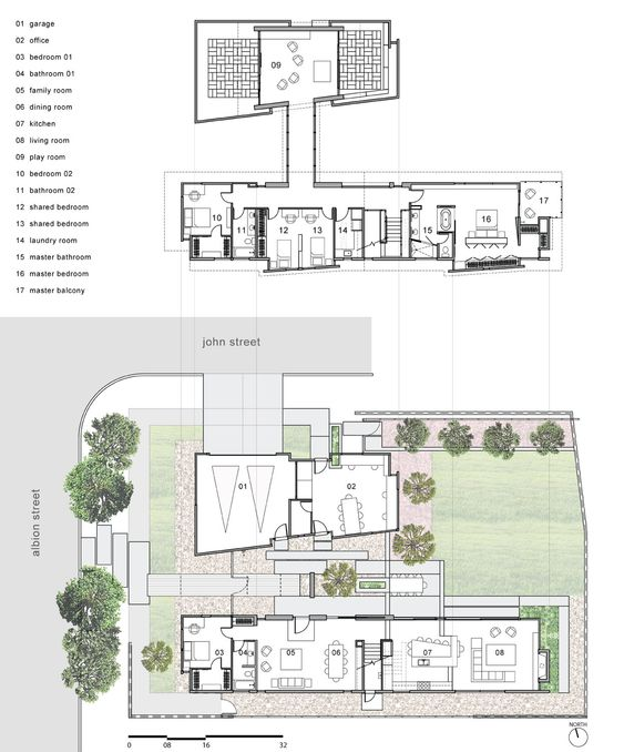 Casa Familia,floor plans