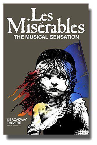 Les Miserables (Broadway) Poster Movie 11x17 Patrick A'Hearn Cindy Benson Jane Bodle David Bryant Pop Culture Graphics