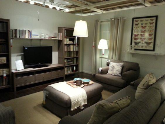 basement ideas ottomans and ikea chair on pinterest. Black Bedroom Furniture Sets. Home Design Ideas