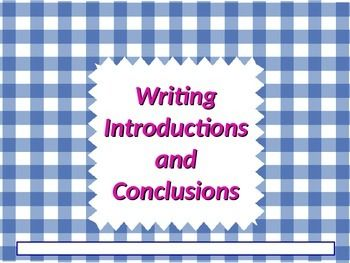 conclusions of essays