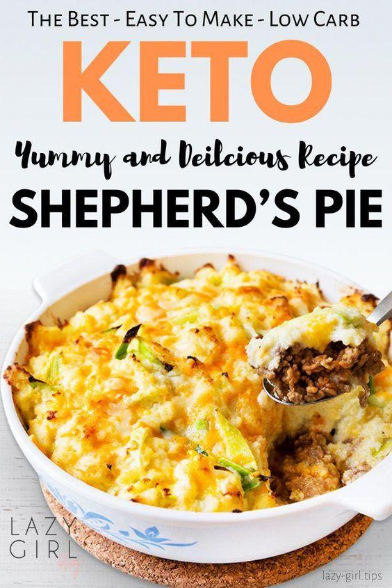Keto Shepherd's Pie - Lazy Girl