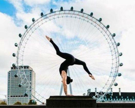 #yoga #beauty #pose #place