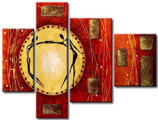 Cuadros abstractos modernos tripticos y polipticos a pedido galeria arte matriz compra y for Imagenes de cuadros abstractos tripticos