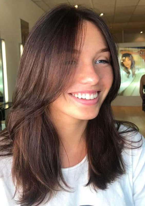 10 Cutest Long Layered Haircuts With Various Types Long Layered Haircuts Face Framing Hair Haircuts For Medium Hair