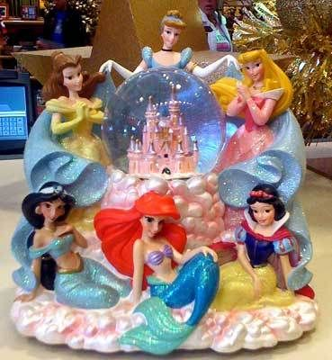 I collected snowglobes as a little girl!