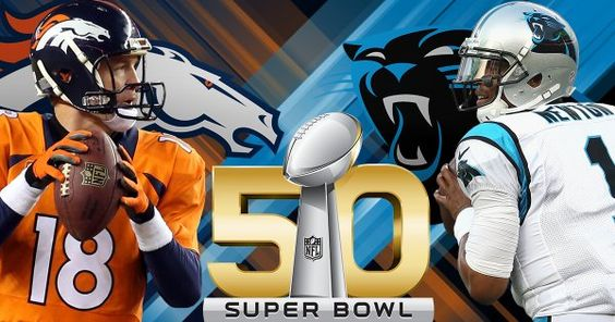 Super Bowl 50 Broncos - Carolina Panthers: