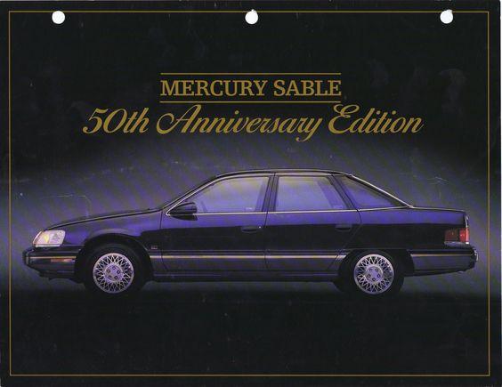 1989 Mercury Sable 50th Anniversary Edition