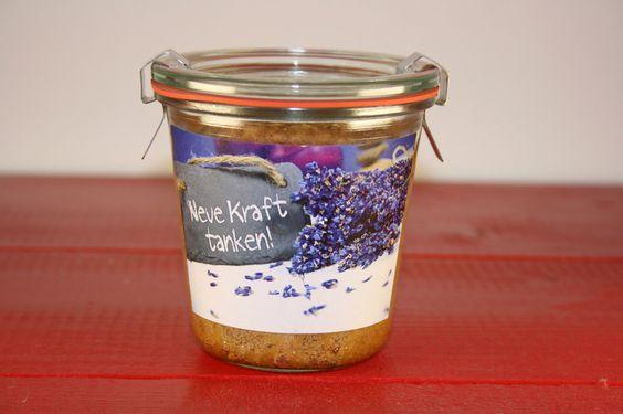"""""""Neue Kraft tanken""""- Baileys®-Nuss-Kuchen im Glas von Die GlasKuchenFee auf DaWanda.com"""