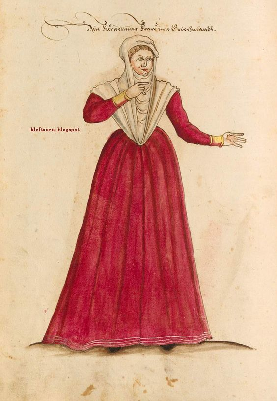 greek woman 16th c.