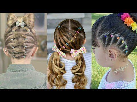 تسريحات شعر للاطفال سهلة ومميزة جدا للمدارس والمناسبات شيك جداااا Youtube Hair Ear Cuff Ear