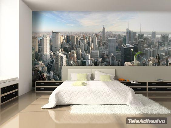 Fotomurales new york city fotomurales sitios famosos - Fotomurales y vinilos ...