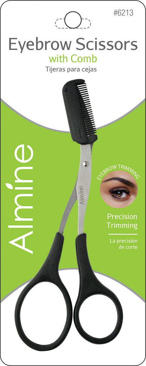 AOneBeauty.com - annie Almine Eyebrow Scissors with Comb: