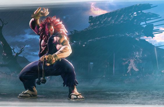 Street Fighter V Trailer Introduces a Very Hairy Akuma