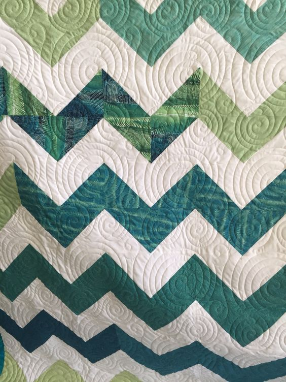 Love the chevrons and colors.  Made from 2 layer cake packs.