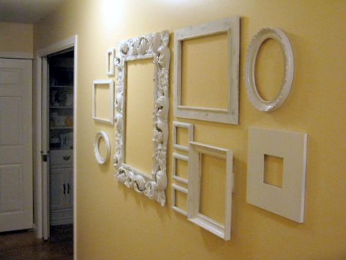 Attractive Emejing Decorating A Wall With Picture Frames Photos Interior