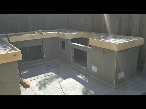 Stegmeier Pour In Place Concrete Counter Top Forms Youtube Concrete Countertops Kitchen Diy Concrete Countertops Kitchen Concrete Countertops