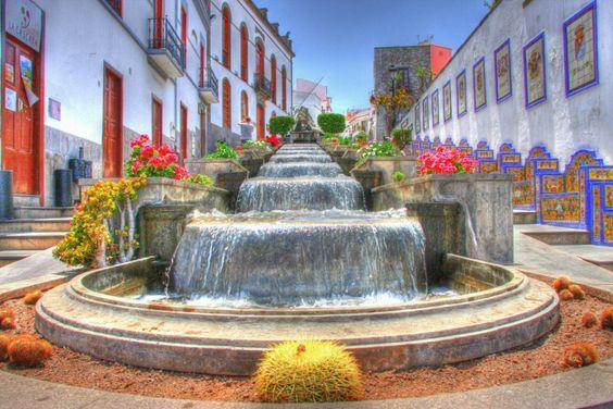 """Fotos del municipio de Firgas """"La Villa del Agua"""" Gran Canaria Islas Canarias"""