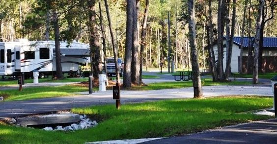 US Military Campgrounds And RV Parks JB Charleston RV Park - Us military campgrounds and rv parks map