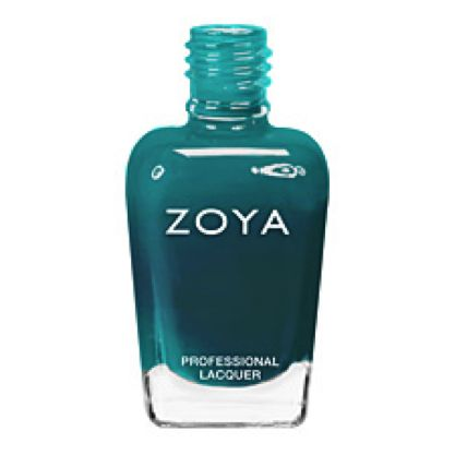 I'm totally crushing on Zoya's Tantalizing Turquoise color right now...<3