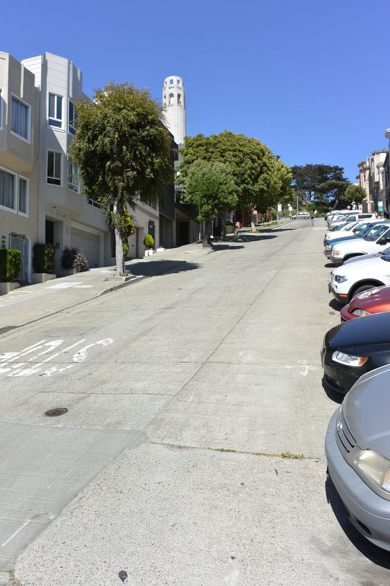 San Francisco, Steep Streets - Work and Travel Kanada - http://workandtravelkanada.com