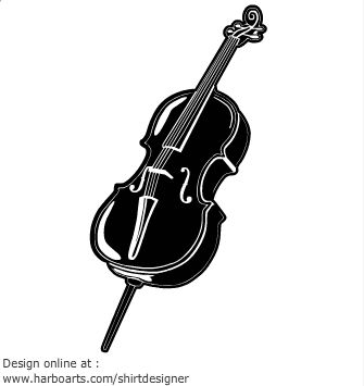 Clip Art Cello Clip Art cello clip art music pinterest graphics vector and art