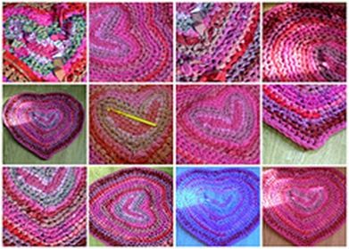 crochet rag rug patterns and how to's