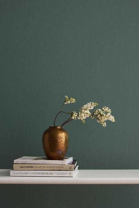 Scopri tutti gli spettacolari effetti delle nostre linee di pitture decorative: We Re Loving This Year S Color Trends Colori Pareti Carta Da Parati Verde Pittura Pareti