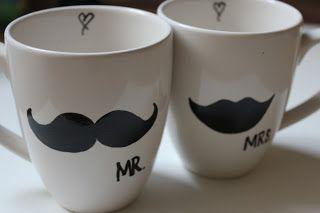 wedding present - mugs