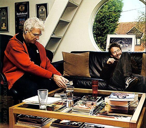 Thom Yorke & David Byrne