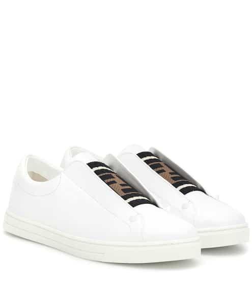 Leather sneakers | Fendi | Fendi shoes