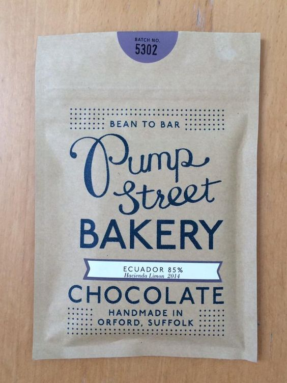 Pump Street Bakery 85% Hacienda Limon has dark, chicory bitterness and subtle floral notes. Interesting.