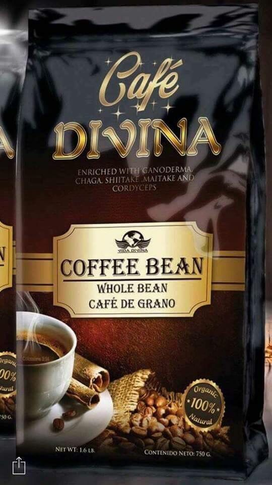 Vidadivina Product Cafe Divina Coffee Bean Gablessings Vida Pinterest