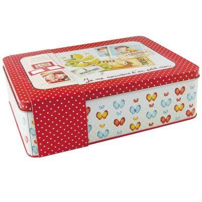 Dis moi... Boîte à souvenirs - Mandarine-62414O